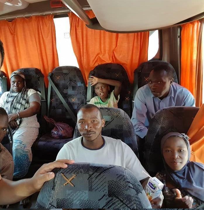 The expulsion of migrants from Algeria towards Niger. Credit: Samia Mehdi/ANSA