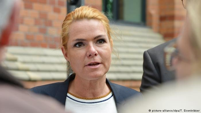 Inger Stoejberg Immigration and Integration Minister of Denmark