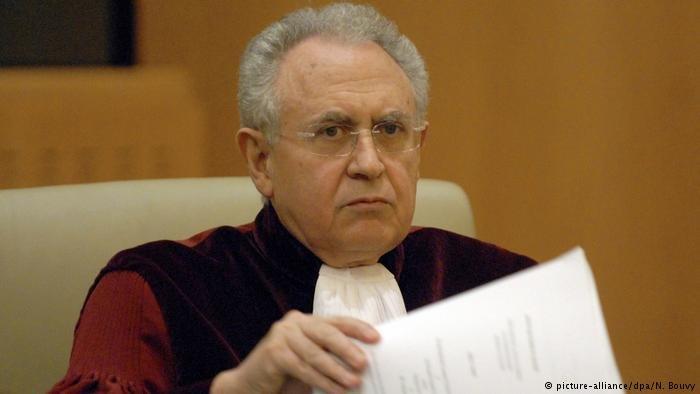 Richter Paolo Mengozzi (EuGH) (picture-alliance/dpa/N. Bouvy)