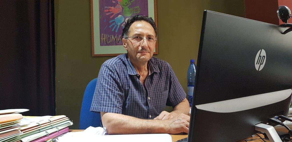 Doros Polycarpou expert des questions migratoires et co-fondateur de lONG de dfense des migrants Kisa  Nicosie Crdit  Anne-Diandra Louarn  InfoMigrants