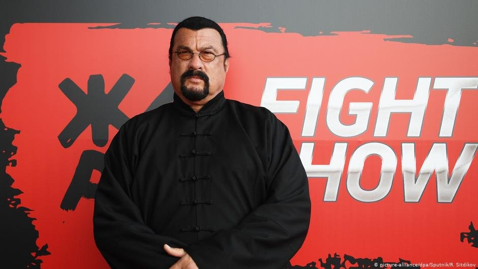 Hollywood actor Steven Seagal is reportedly starring in the movie | COPYRIGHT: picture-alliance/dpa/Sputnik/R. Sitdikov
