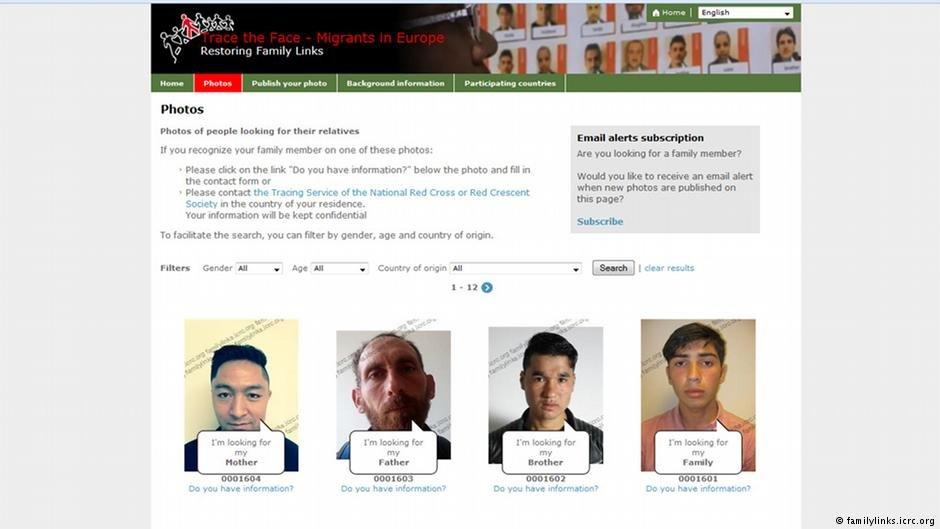 """پورتال انترنتی """"Trace the face"""" راه های جدیدی را برای جست و جو در سراسر جهان ممکن میسازد"""