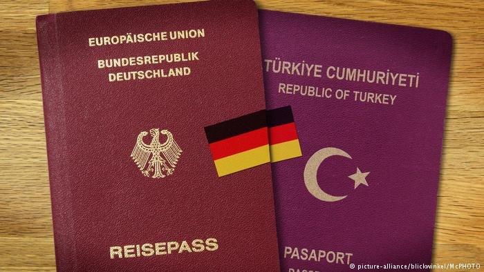German and Turkish passport
