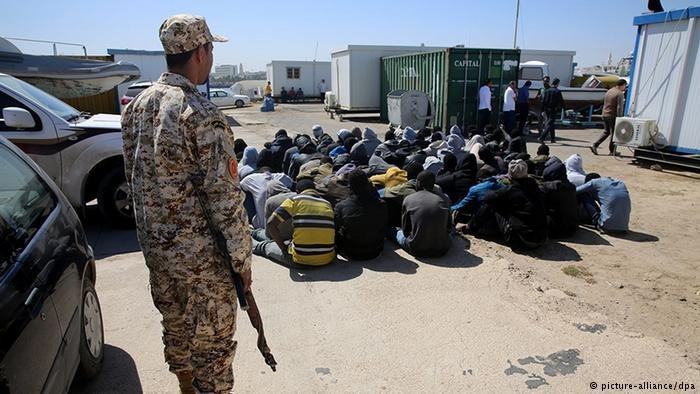 Libya detention  Photo Picture Alliance  dpa