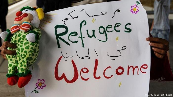 En septembre 2015 les rfugis et les migrants taient accueillis  bras ouverts en Allemagne