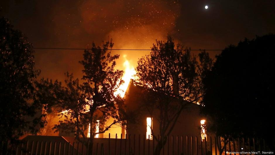 The wildfires in Mati Greece in July 2016 took 100 lives  Photo Picture-alliancedpaTStavrakis