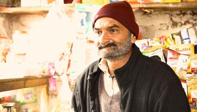 A grown up sons loss has broken Idrees Ahmed  Credit Aasim Saleem