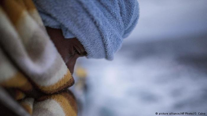 Close up migrant in Libya  Photo Picture Alliance  AP Photos  O Calvo