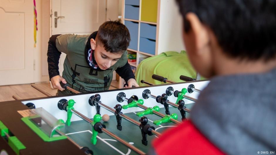 In recent years, Tausche Bildung für Wohnen has seen an increasing number of children from war-torn Syria | Photo: DW/D.Ehl