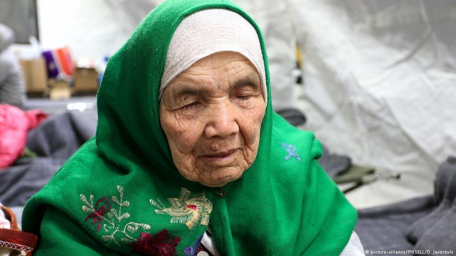 About 8.5 percent of the world's refugees are over 60 years old.