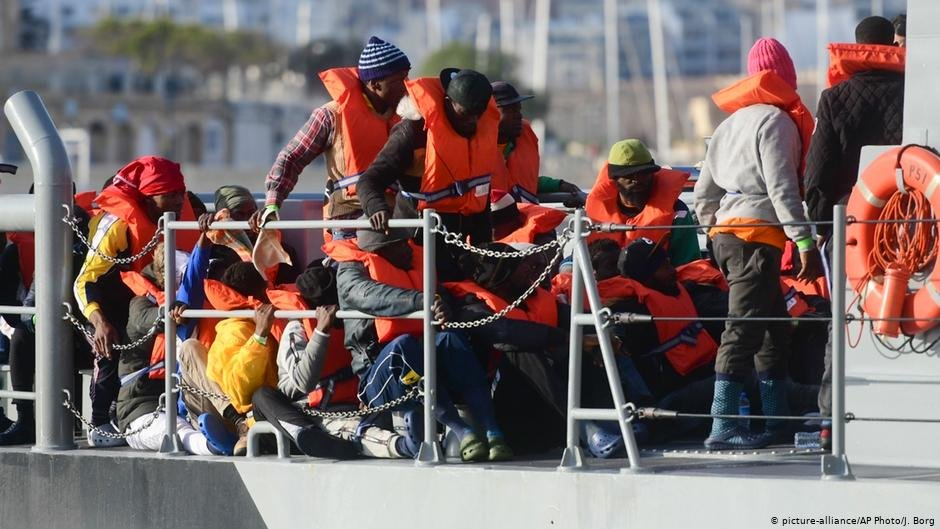 64 migrants waited 10 days at sea before four EU states agreed to take them  Photo Picture-allianceAP PhotoJBorg