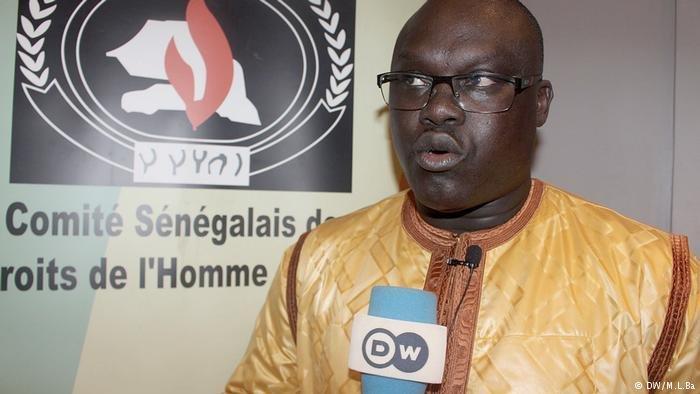 Me Pape Sene prsident du comit sngalais des droits de lHomme