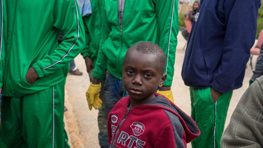 ansa / الطفل السيراليوني آبو. المصدر: زهير أبوسريول