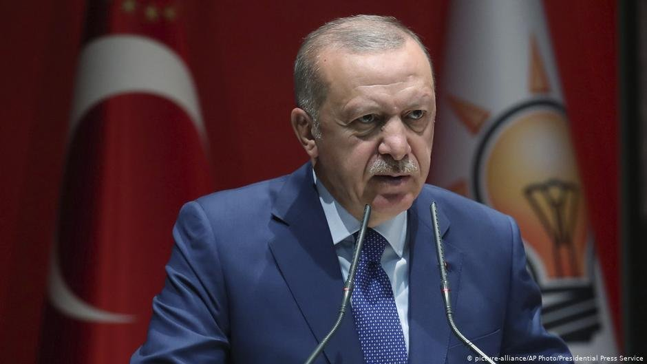 Turkish president Erdogan wanted to threaten the EU with a second refugee crisis  but his efforts were thwarted by the global pandemic  Photo picture alliancePresidential Press Service