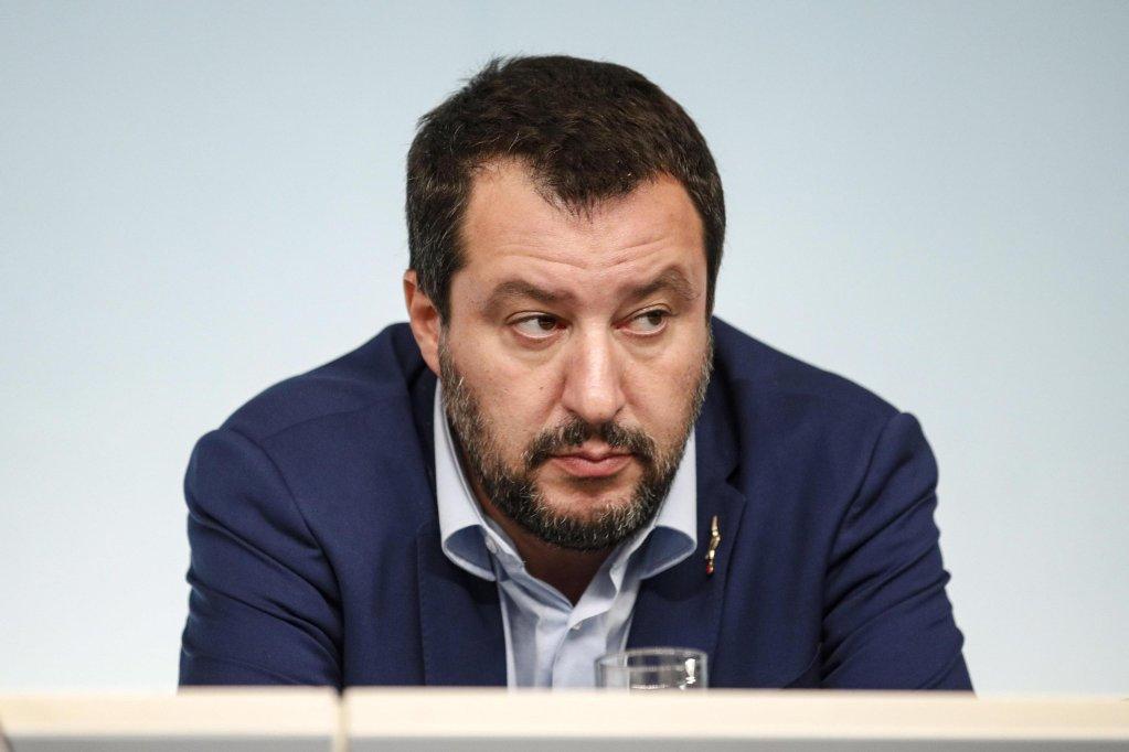 Italy's Interior Minister Matteo Salvini. Credit: ANSA/ Giuseppe Lami