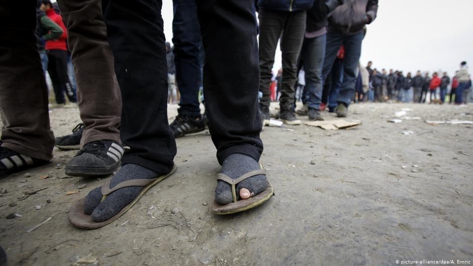 Malgr de nombreux obstacles des migrants continuent  prendre la route des Balkans pour arriver dans un pays de lUE   Photo picture-alliancedpa A Emric