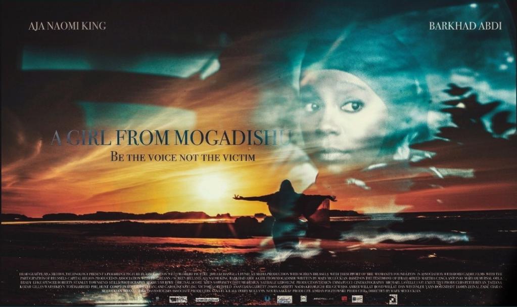 Film poster A girl from Mogadishu  Source Screenshot Twitter agirl_mogadishu