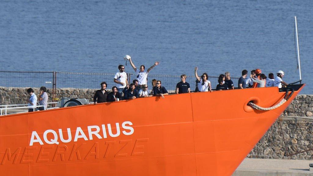 Malte a accepté sous conditions de laisser accoster l'Aquarius dans l'un de ses ports.