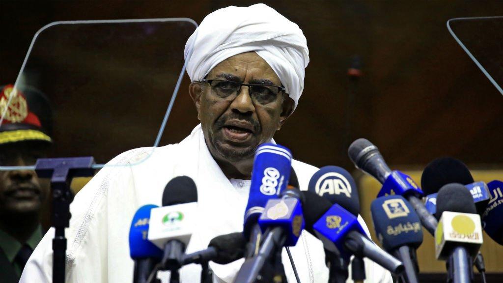 Ashraf Shazly / AFP |Le président soudanais Omar el-Béchir, le 2 avril 2018.