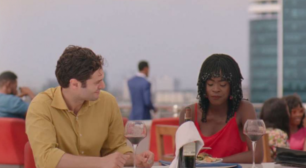 Peter and Rosa in Eyimofe  Source Screenshot from Eyimofe a film by Arie and Chuko Esiri