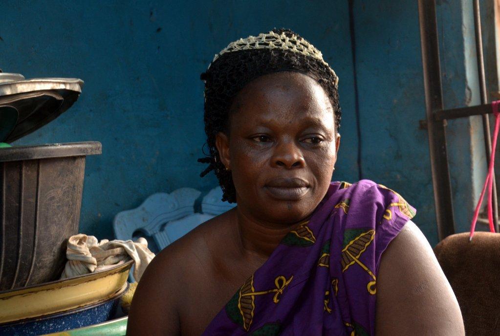 Mme Pat est heureuse d'avoir retrouvé sa fille malgré les difficultés auxquelles fait face la famille