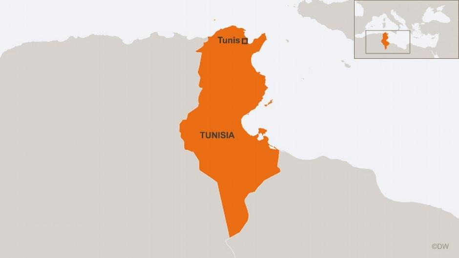 Map of Tunisia | Photo: DW