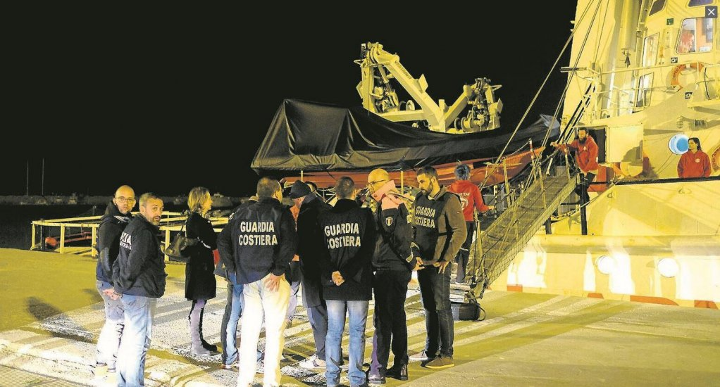 Proactiva Open Arms' ship in Pozzallo | Photo: ProActiva Open Arms (Twitter)