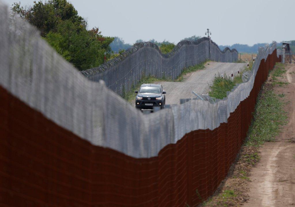 Image d'illustration de la frontière serbo-hongroise. Crédit : Reuters