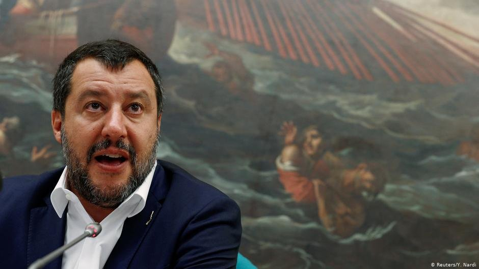 One of those who has pressured rescuers to stop is Italian ex-Interior Minister Matteo Salvini | Photo: Reuters/Y.Nardi