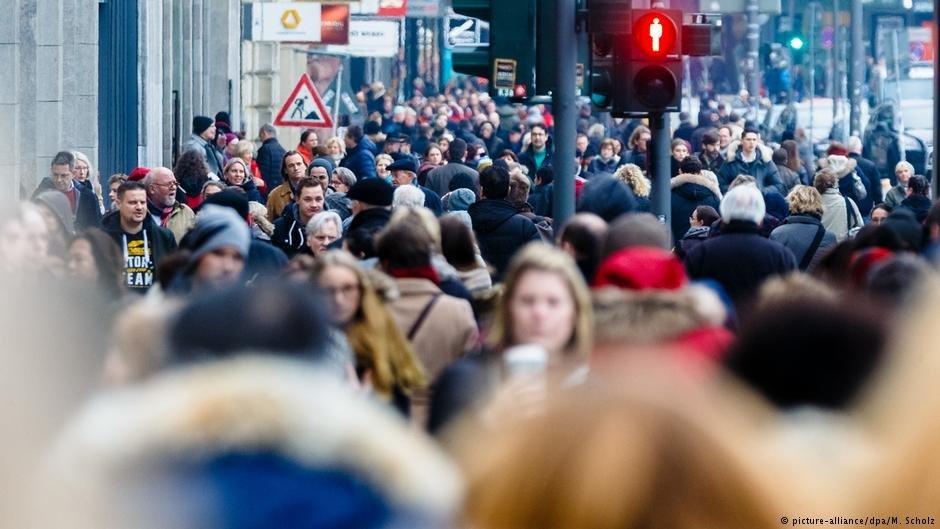 افزایش نفوس در آلمان