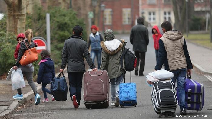 زيادة بنسبة المهاجرين في ألمانيا عام 2017