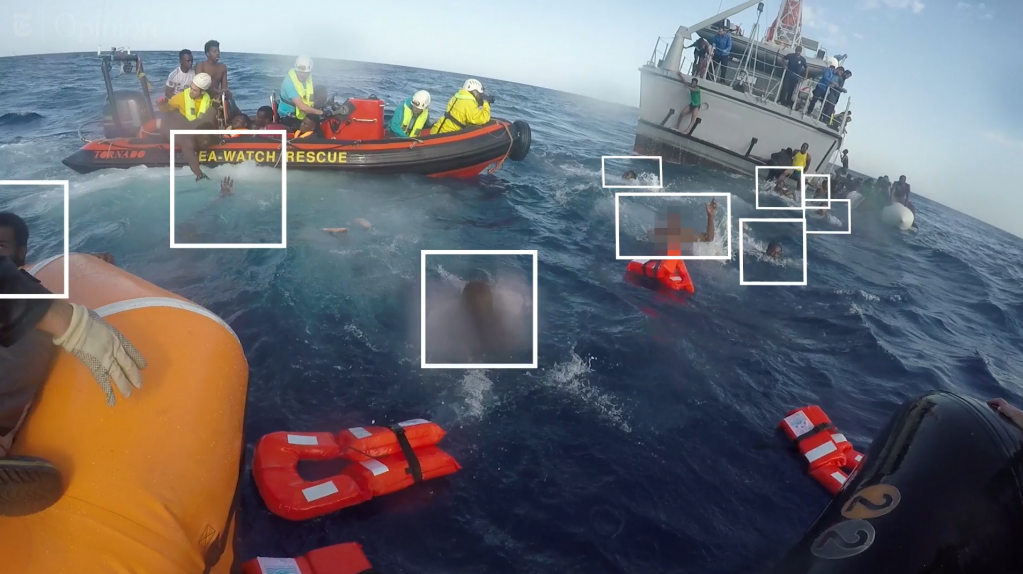 Snapshot of a video produced by the New York Times about the fatal attempt of some migrants to cross the Mediterranean in November 2017  Credit The New York TimesSea-Watch