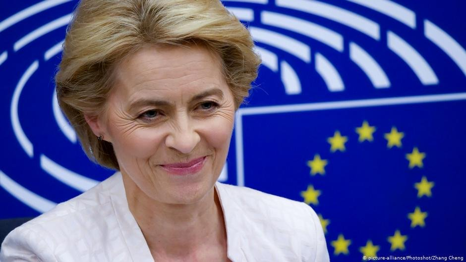 Incoming President of the EU Commission Ursula von der Leyen wants to bolster FRONTEX  COPYRIGHT picture-alliancePhotoshotZhang Cheng