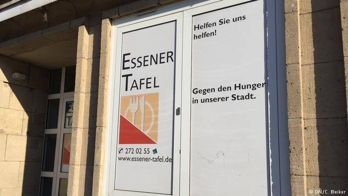 German food bank, Essener Tafel | Credit: Deutsche Welle