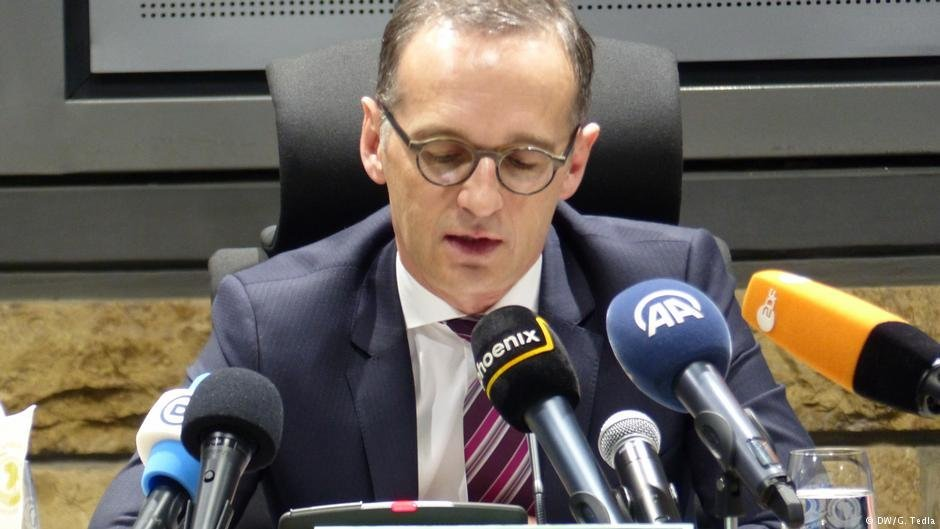 German Foreign Minister Heiko Maas said that those who refuse to assist refugees are traitors  PHOTO DWG Tedia