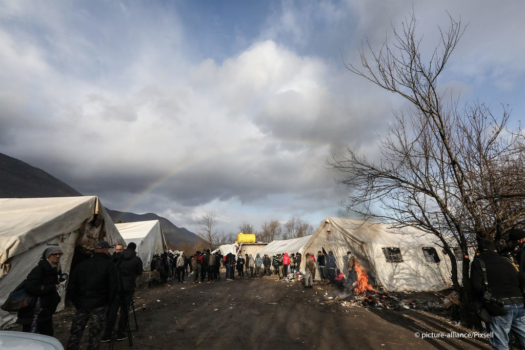 Authorities said the site of the Vucjak camp would be cleared within days | Photo: picture-alliance/Pixsell