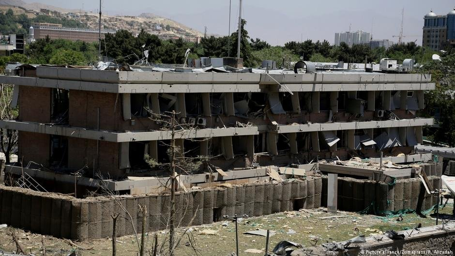بتاریخ ۳۱ می ۲۰۱۷ یک انفجار ویرانگر در جاده مقابل سفارت آلمان در کابل رخ داد