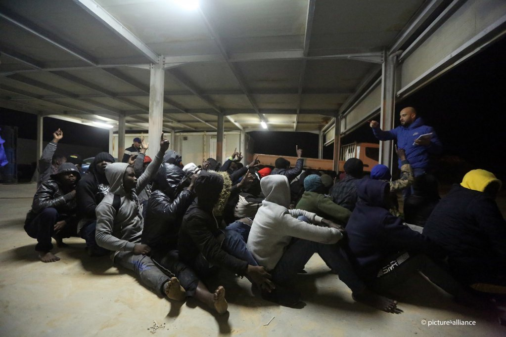 Migrants are often held in crammed conditions that have been likened to prisons | Photo: picture-alliance