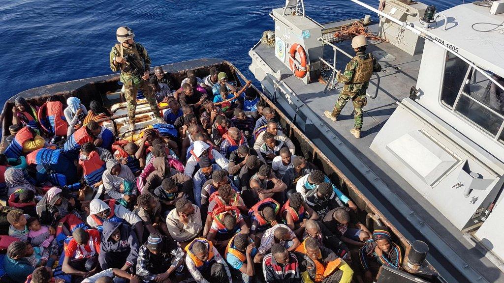 عملية إنقاذ مهاجرين في المتوسط. أرشيف/ANSA