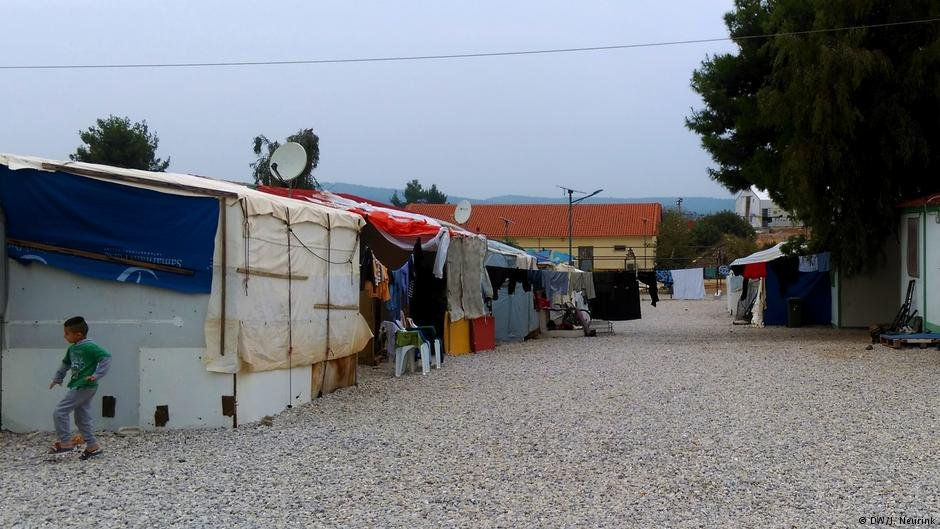 Yazidis continue to fear for their lives even in migrant camps in the EU   Credit: DW/J. Neurink
