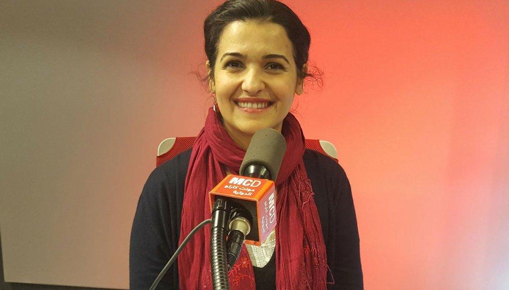 سمر دملخي، ناشطة في العمل الإنساني وعضوة في مجلس إدارة  SOS MEDITERRANEE