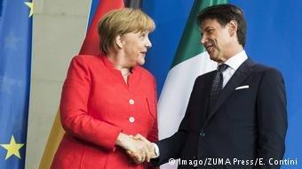 عکس از دویچه وله/ آلمان مصمم است که با ایتالیا در مبارزه با مشکلات مهاجرین همکاری کند.