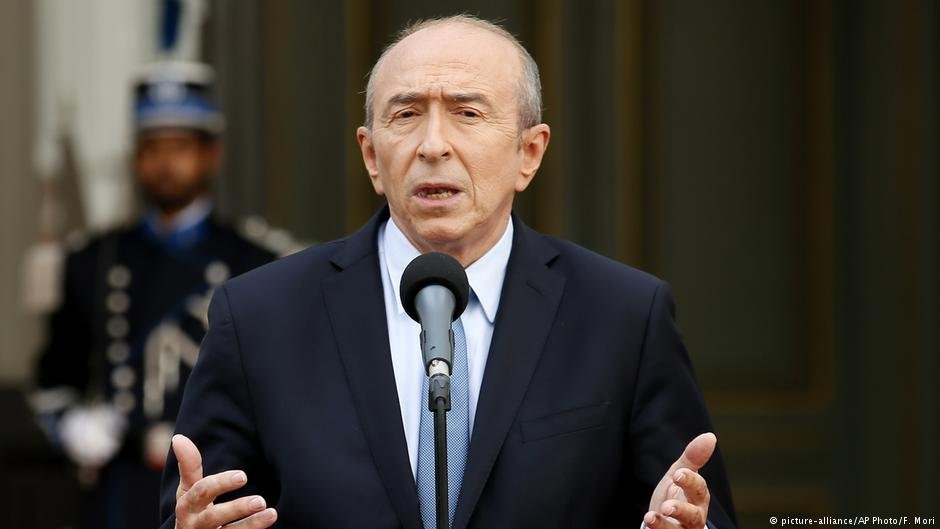 "Interior Minister Gérard Collomb believes that several French regions are being ""overwhelmed by asylum seekers"""