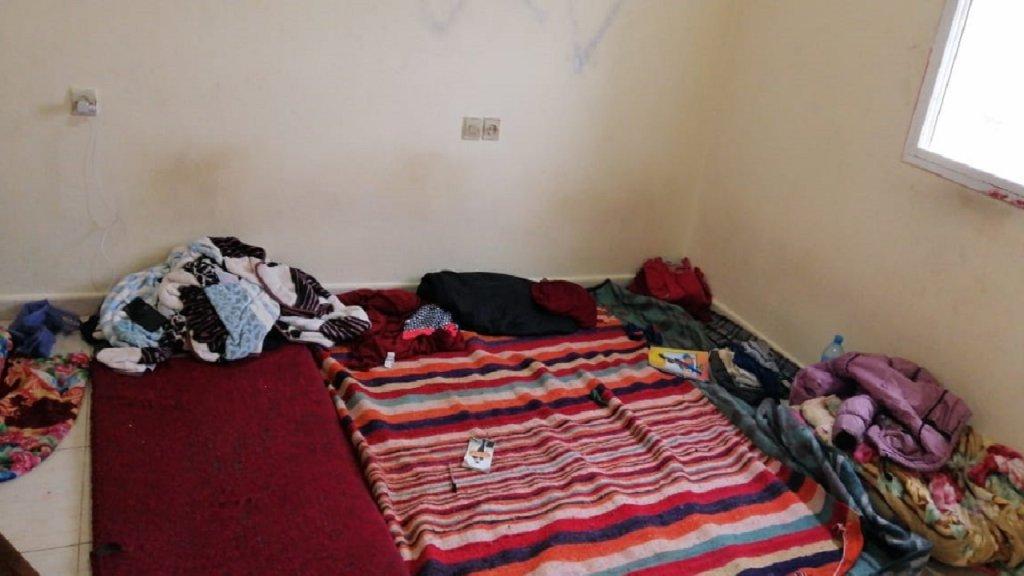 غرفة عفاف وعائلتها في مدينة الناظور المغربية