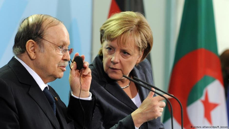 Bouteflika last visited Merkel in 2010, while Merkel's last trip to Algeria was in 2008