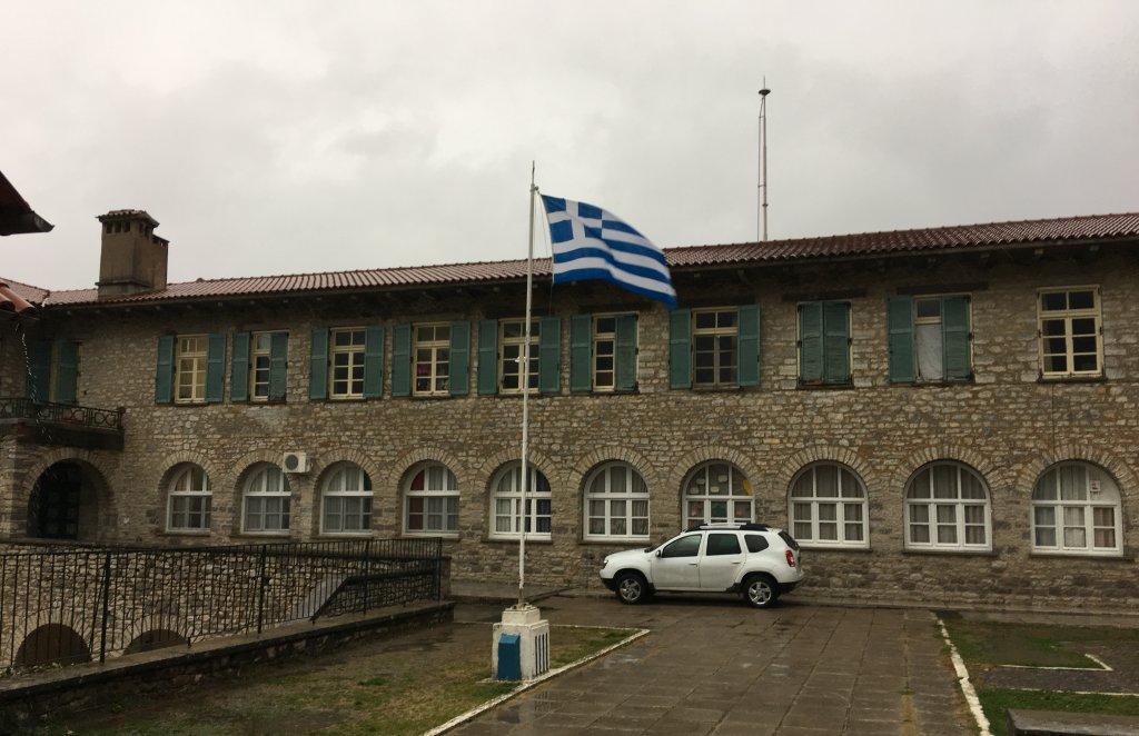 مخيم اللاجئين في كونيتسا في شمال غربي اليونان