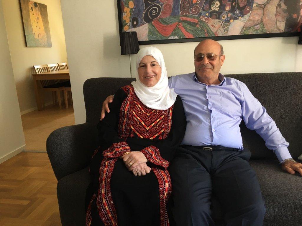 Fathi et Hind ont fui Damas en 2014. Crédit : Leslie Carretero