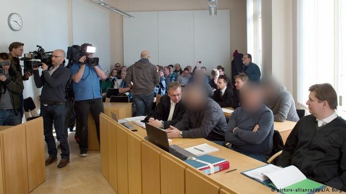 Deutschland Kamenz Prozess wegen Freiheitsberaubung (picture-alliance/dpa/A. Burgi)