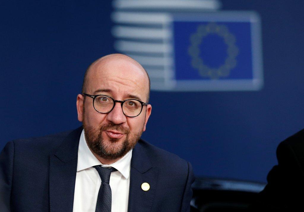Le Premier ministre belge, Charles Michel. Crédit : Reuters