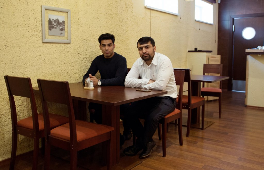 Sulaymon and Mohammad are building cultural bridges by offering something new to Lithuanian diners | Credit Zivilé Raskauskaite
